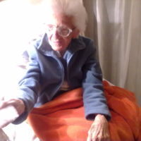 Dr Wanda Błeńska w dniu swoich 102 urodzin