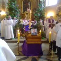 Pogrzeb ks. dr Ambrożego Andrzejaka opiekuna duchowego Sekcji Misjologicznej w dniu 4.01.2014
