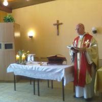 Spotkanie z ks. prałatem Tomaszem Grysą z nuncjatury w Brazylii, maj 2014