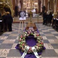 Pogrzeb pani dr Wandy Błeńskiej w dniu 3.12.2014